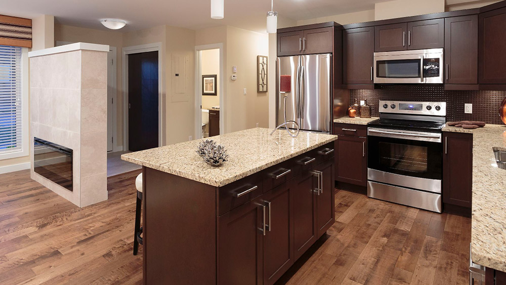 Kitchen - The Palma - Park City Condominiums - Manitoba Condos
