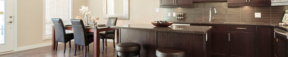 Kitchen - The Winona - Park City Condominiums - Condos Manitoba