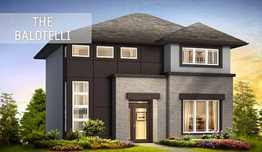 The Balotelli - A&S Homes - Home Builders Winnipeg