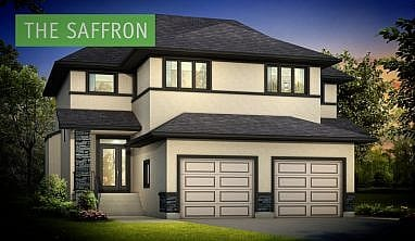 The Saffron - A&S Homes - New Houses Manitoba