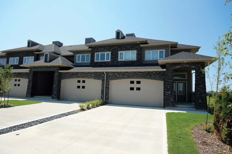 It's Not Just A Driveway - A&S Homes - New Houses Manitoba