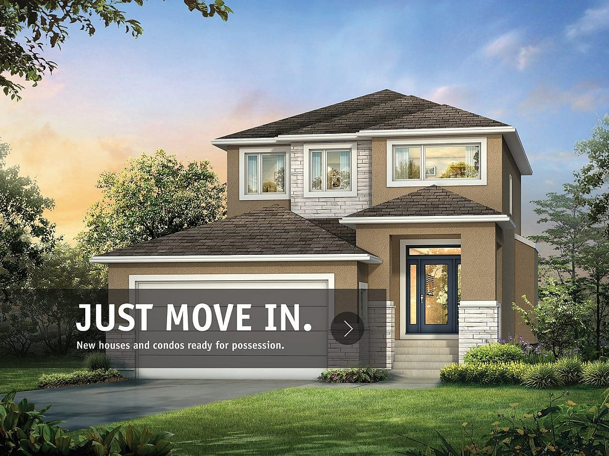 Move-In-Ready - A&S Homes - Home Builders Winnipeg