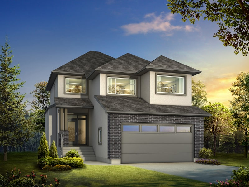 The Cortina - A&S Homes - Home Builders Winnipeg