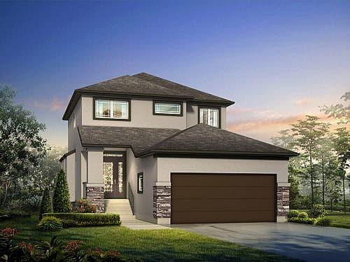 The Faircrest - A&S Homes - Show Homes Manitoba
