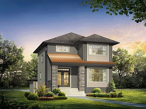 The Faircrest - A&S Homes - Show Homes Winnipeg