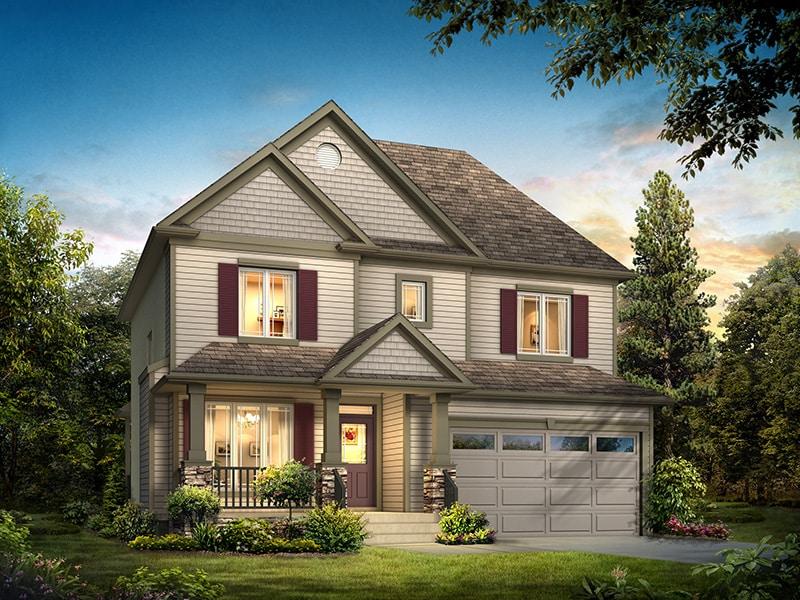 The Chesterton - A&S Homes - New Houses Winnipeg