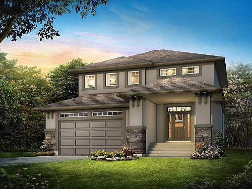 The Collingwood - A&S Homes - Show Homes Winnipeg