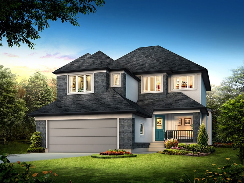 The Normandy - A&S Homes - Home Builders Manitoba