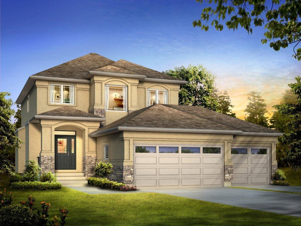 The Ridgebury - A&S Homes - Home Builders Manitoba