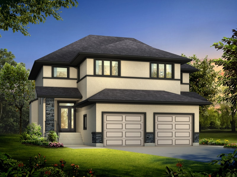 The Saffron - A&S Homes - Show Homes Manitoba