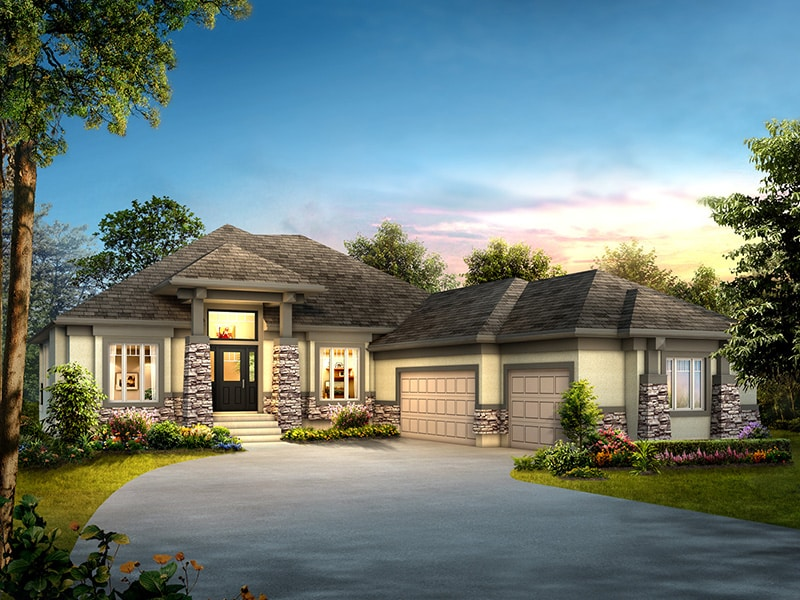The Stonebridge - A&S Homes - Home Builders Winnipeg