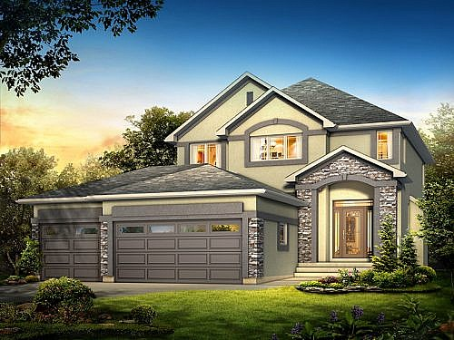 The Westwood - A&S Homes - Home Builders Manitoba