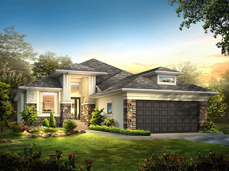 The Yorkton III - A&S Homes - Show Homes Manitoba
