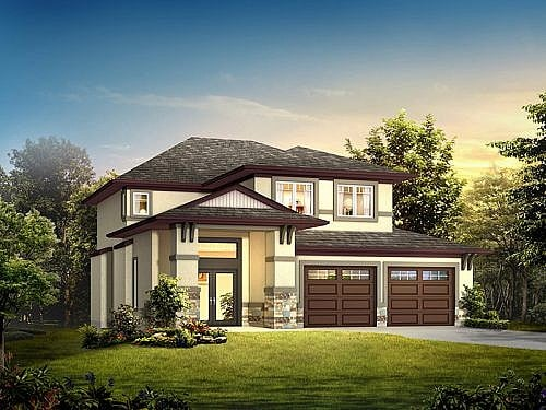 The Caressa - A&S Homes - Home Builders Manitoba