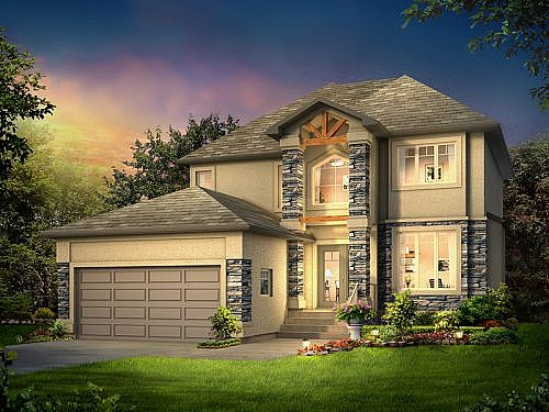 The Chelsey II - A&S Homes - Home Builders Winnipeg