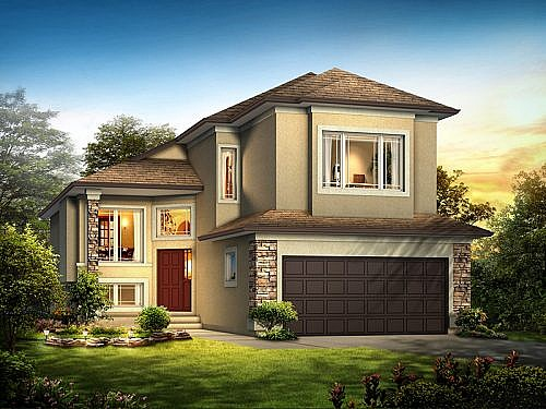 The Courtney II - A&S Homes - Show Homes Manitoba