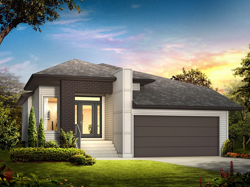 The Denmore II - A&S Homes - Home Builders Winnipeg