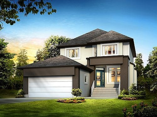 The Newhaven - A&S Homes - New Houses Winnipeg