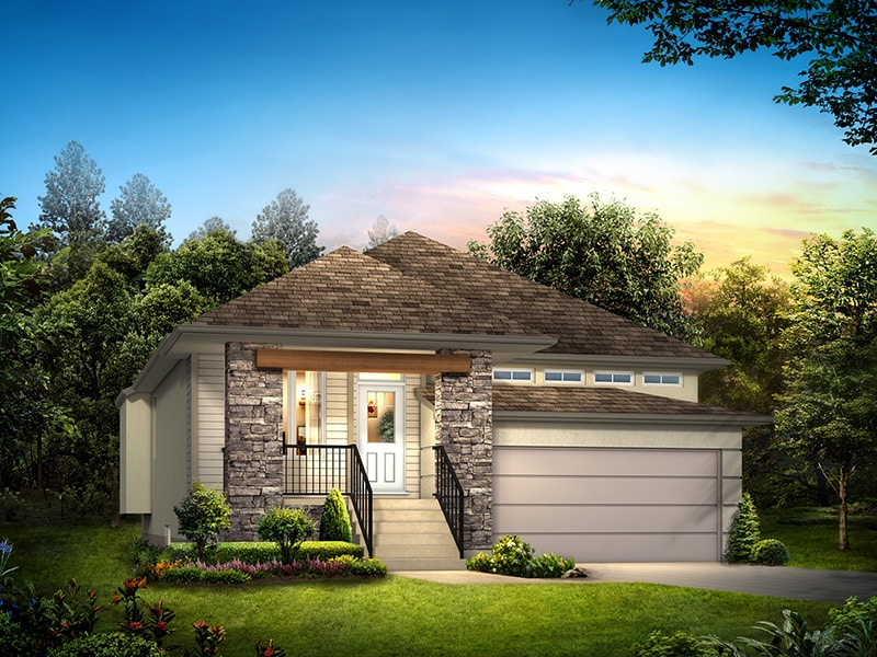 The Oaklake II - A&S Homes - Show Homes Manitoba
