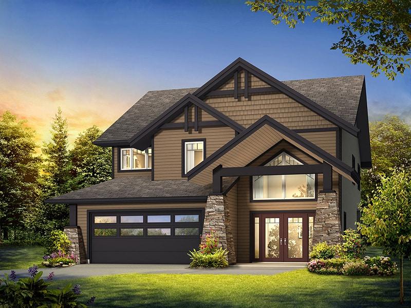 The Oakmont - A&S Homes - Home Builders Winnipeg