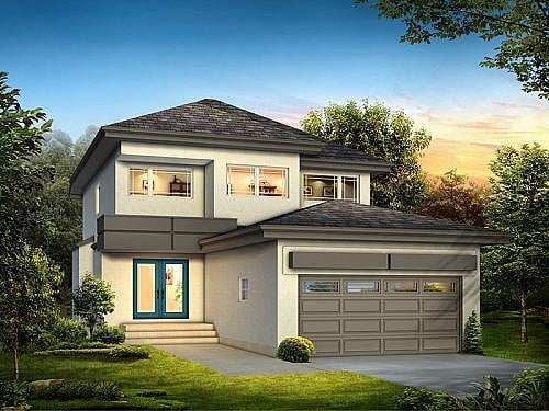 The Ridgebury II - A&S Homes - New Houses Manitoba
