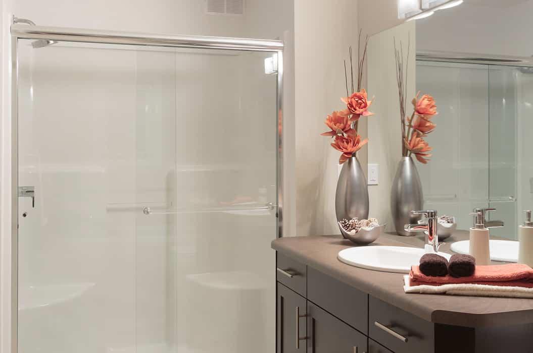 The Collingwood Bathroom - A&S Homes - Show Homes Winnipeg | A&S Homes