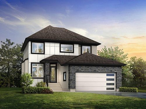 The San Danielle - A&S Homes - New Houses Winnipeg