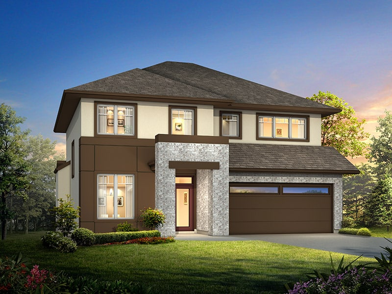 The Lonsdale - A&S Homes - Show Homes Winnipeg